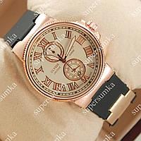 Яркие наручные часы Ulysse Nardin Lelocle Suisse Gold/White 2315
