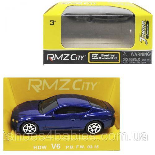 Машинка Bentley синий