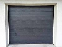 Автоматичні секційні ворота Hormann RenoMatic M-гофр ш2500мм, в2125мм з приводом ProLift700, фото 1