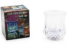 Стакан с подсветкой Flash cup пластиковый, прозрачный