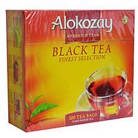 Чай Алокозай чёрный  100 пакетов по 2гр