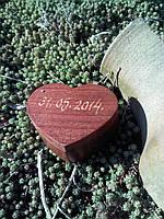 """Шкатулка для колец """"сердце"""", фото 1"""