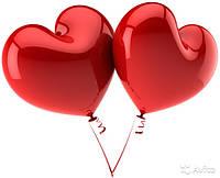Оригинальное оформление шарами ко дню святого Валентина