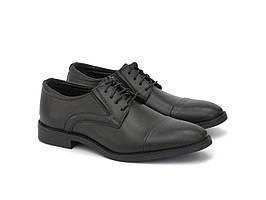 Туфли дерби мужские кожаные классические с резинками обувь больших размеров Rosso Avangard Derby OTRREZ BS