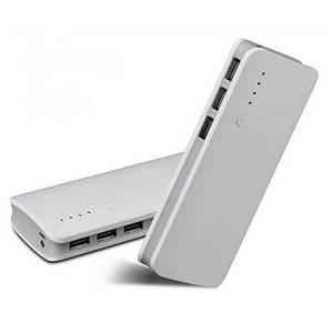 Портативное Зарядное устройство Power Bank 20000-2mAh на 3 USB, внешний аккумулятор