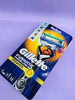Станок для бритья мужской (Бритва) Gillette Fusion5 ProGlide Power Flexball с 1 сменным картриджем