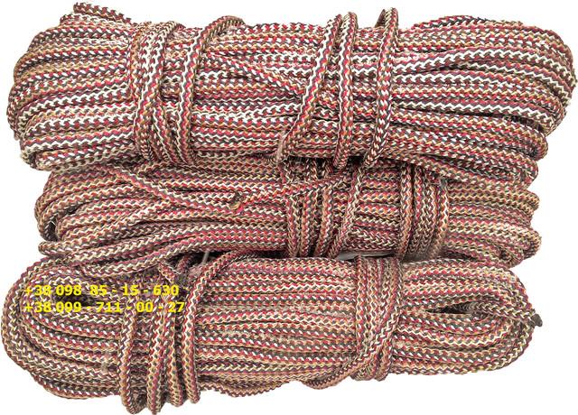 Веревка, Шнур вязаный