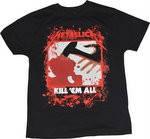 """Рок-футболка Metallica """"Kill'em All"""""""