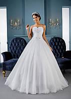 Лёгкое свадебное платье для утонченных невест