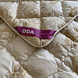 Одеяло на овчине Двуспальный размера 175х210 Качественное, теплое зимнее одеяло ODA, фото 4