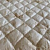 Одеяло на овчине Двуспальный размера 175х210 Качественное, теплое зимнее одеяло ODA, фото 6