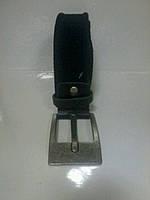 Ремень мужской текстильный с кожаными  элементами, фото 1