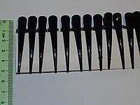 Уточки металлические черные, фото 1