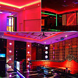 Світлодіодний Гнучкий Неон 2 х сторонній LED Флекс Неон 50 м Червоний, фото 7