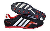 Кроссовки мужские Adidas F2013 01M черно-красные