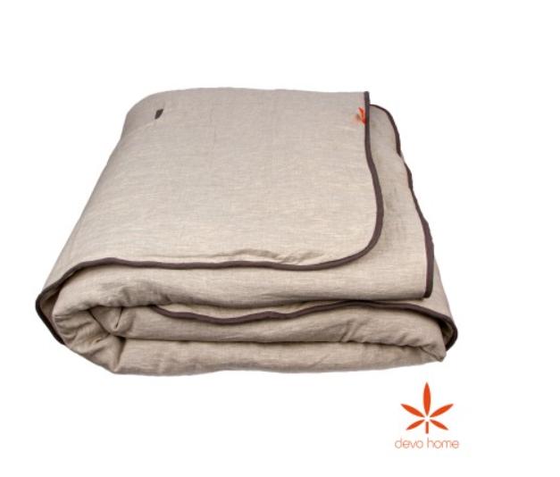 Одеяло зимнее Hemp Flax Конопля-Лён DevoHome, 220х260
