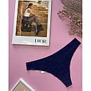 Стринги: комплект из 3 шт (цвет на выбор). Комплект из женских стрингов, фото 8