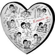 """Подушка-сердце 3D """"Любовь - это..."""", фото 1"""