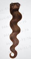 Волосы на заколках волнистые 50 см., фото 1