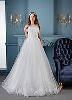 Невероятно изысканное и лёгкое свадебное платье для очень нежной невесты