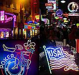 Светодиодный Гибкий Неон 2 х сторонний LED Флекс Неон 50 м Фиолетовый, фото 9