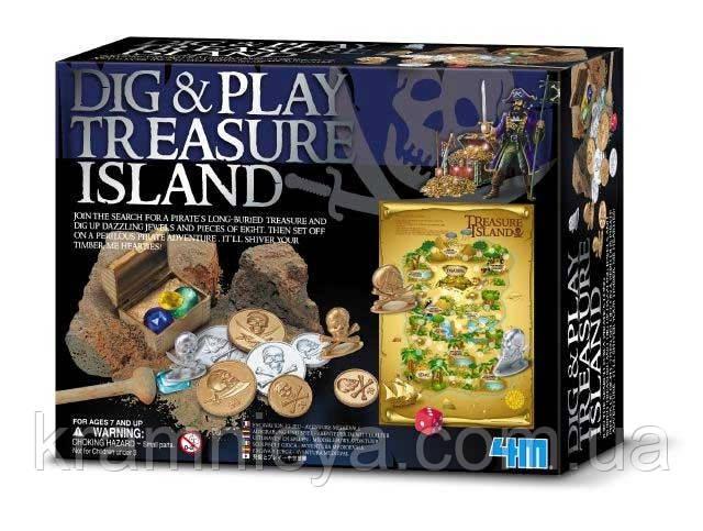 """Раскопай и играй! """"Остров сокровищ"""""""