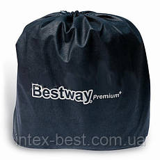 Двуспальная надувная кровать Bestway 67403 (203х152х46 см.) встроенный электрический насос, фото 3