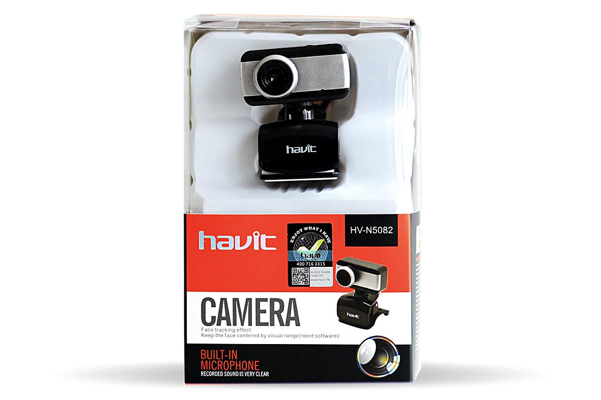 Веб-камера с микрофоном Havit HV-N5082 0.3 Мп