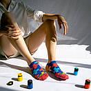 Носки короткие Sammy Icon с разноцветными крестами, фото 2