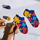 Носки короткие Sammy Icon с разноцветными крестами, фото 4