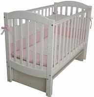 Детская кроватка Верес Соня ЛД 10  маятник (белый)