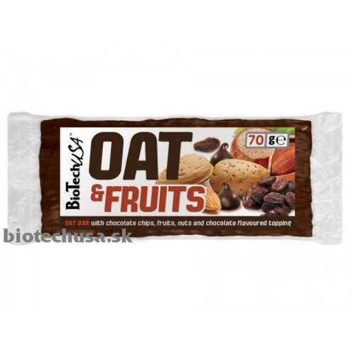 OAT and Fruits 70 g chocolate chips