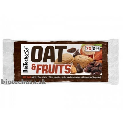 OAT and Fruits 70 g chocolate chips, фото 2
