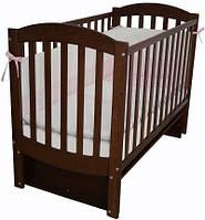 Детская кроватка Верес Соня ЛД 10 маятник (орех)