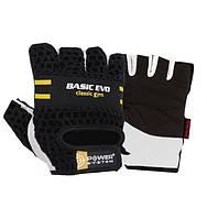 Перчатки для фитнеса и тяжелой атлетики Power System Basic EVO PS-2100 Black Yellow Line L