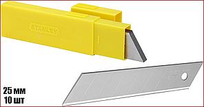 Лезвия для ножей 25 мм 10 шт Stanley 0-11-325