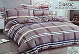Байковый  комплект постельного белья Байка ( фланель)  Цветы на Розовом Евро размер, фото 10