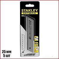Лезвия для ножей Stanley Carbide сегментированные 25 мм 5 шт STHT0-11825