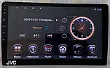 """Автомагнітола JVC, 2/16GB екран 10.1"""", GPS, Android10, 2DIN,2USB,WIFI,FM,BT КОРЕЯ!, фото 3"""