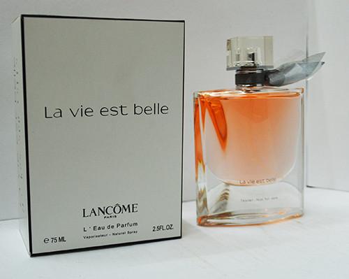 Тестер парфюмированная вода женская Lancome La Vie Est Belle (Ланком Ла Ви Эст Бэль) 75 мл