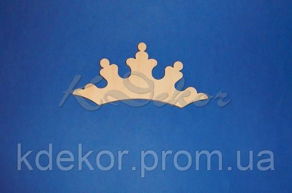 Корона №2 заготовка для декора и декупажа