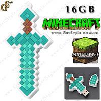 "Флешка Алмазный меч из MineCraft - ""Diamond Sword"" - 16 Gb!, фото 1"