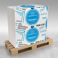 Пенопласт «ТД Пенопласт» 25пл. (40мм) 1*1м (12 листов/упаковка)