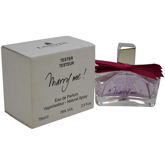 Тестер парфюмированная вода женская  Lanvin Marry Me (Ланвин Мери Ми) 75 мл