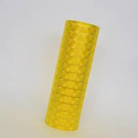 Пленка для фар желтая 4D