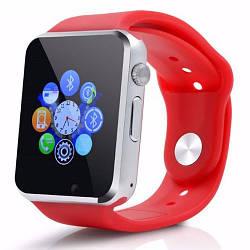 Умные Смарт Часы Smart Watch A1 Turbo Красные