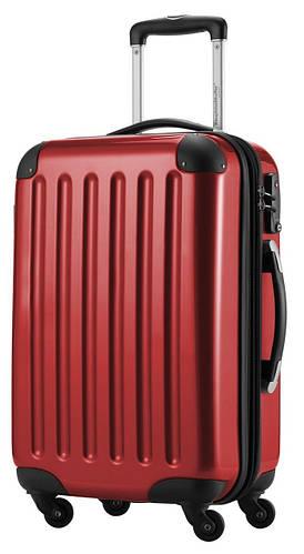 Большой 4-колесный вместительный чемодан из поликарбоната 87 л. HAUPTSTADTKOFFER alex midi red красный