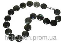 Женское ожерелье из лабрадора