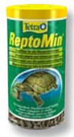 Тетра/ Tetra Repto Min полноценный корм для водных черепах, 1л