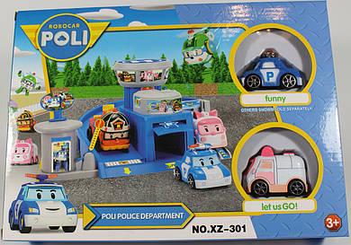 Паркинг Робокар Поли! Robocar Poli! 2 машинки. АКЦИЯ!